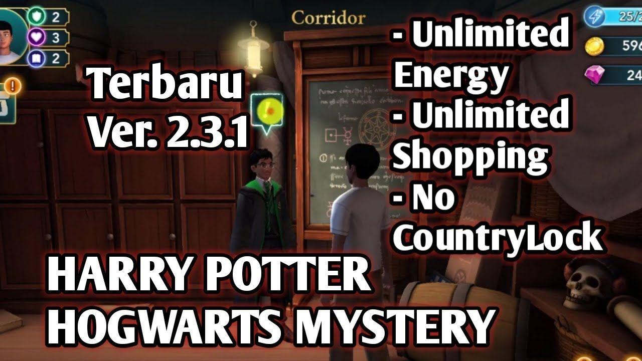 Cheat Harry Potter Hogwarts Mystery Mod Hack Infinite Energy Shopp Hogwarts Mystery Hogwarts Harry Potter Hogwarts