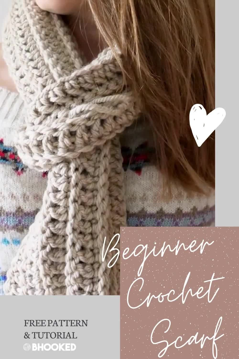 Photo of How to Crochet a Scarf for the Complete Beginner – B.Hooked Crochet & Knitting