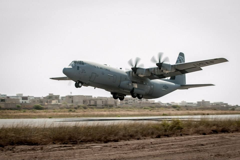C-130 remains in production. The turbo-prop cargo plane ...