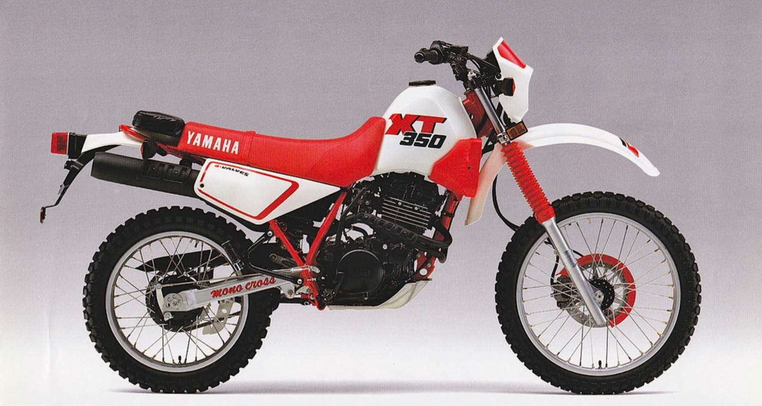 Yamaha XT350-87.jpg (1482×791) Bike Trails, Cool Bikes