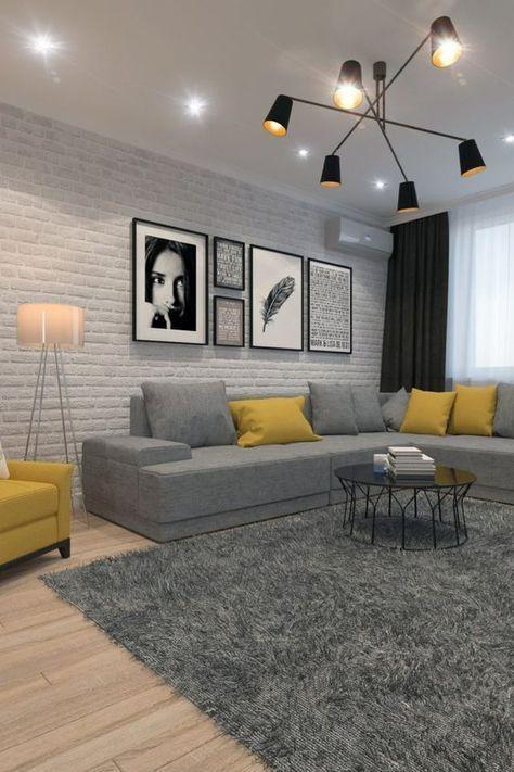 Idée à piquer pour un salon contemporain | home en 2019 ...