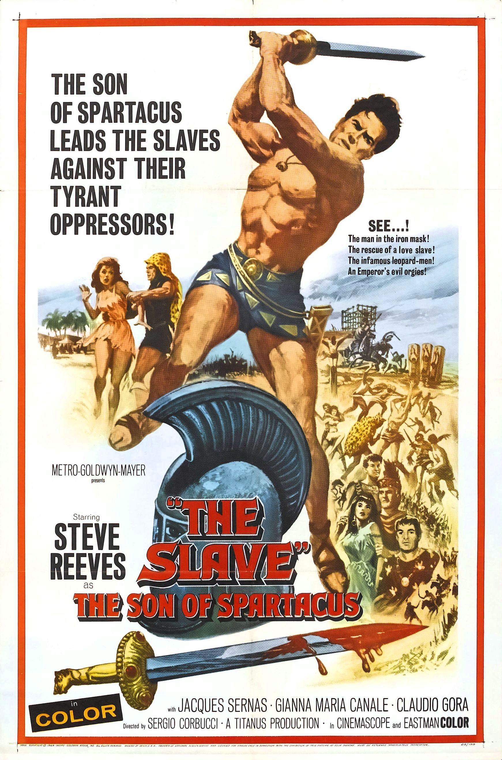 The Son of Spartacus (1962)
