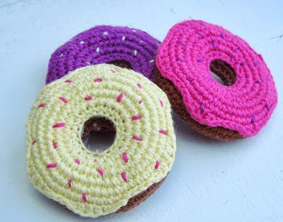 Donut Häkelanleitung Häkeln Pinterest