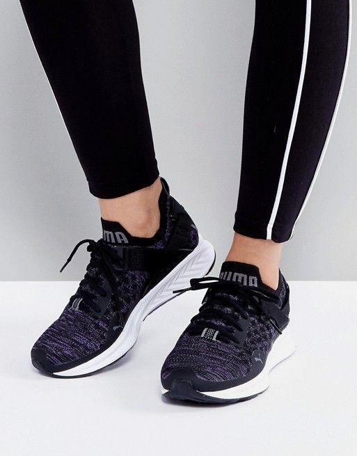 Puma | Puma Ignite 3 Evoknit Low Sneakers In Black