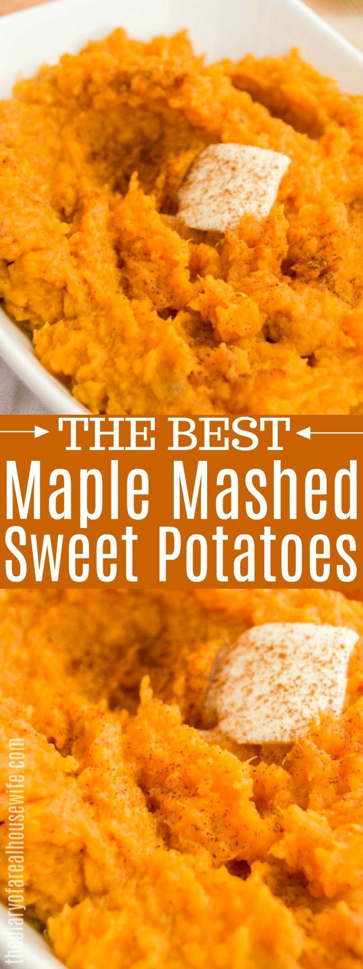 Mashed Sweet Potatoes - The Diary of a Real Housewife