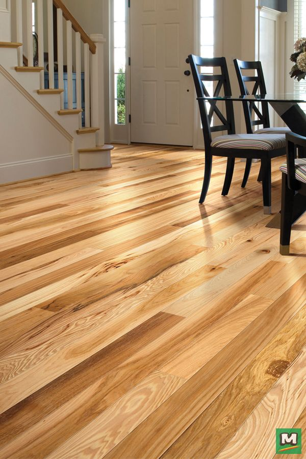 For A Lighter Look Try Shaw Thornhill Solid Hardwood Flooring