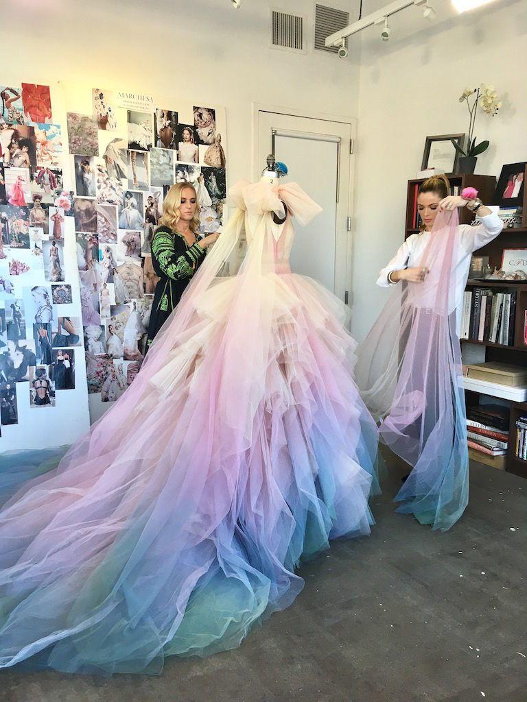 Marchesa, Carolina Herrera, Jason Wu, and More Create Custom Gowns ...