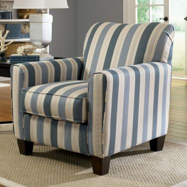 Addison Blue Accent Chair, Ashley, Addison Collection Home Gallery