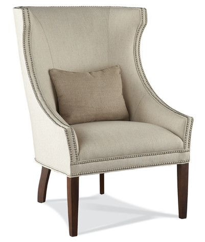 Hickory White 4860 01 Wing Chair Overall W29 D34 H43 In