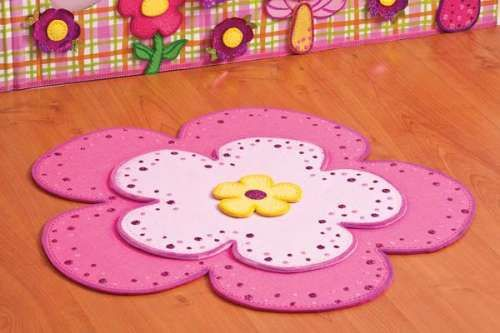 Tapete de fomi en forma de flor fomi goma eva foami fomi manualidades y alfombras - Alfombras de goma espuma para ninos ...