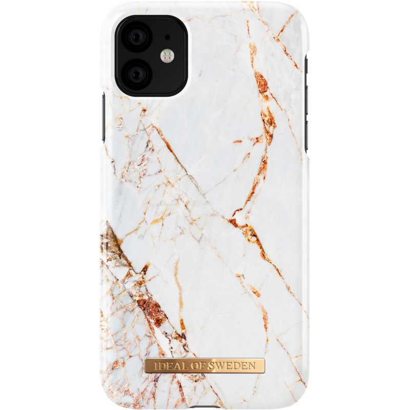Accessoire iPhone Ideal Of Sweden iPhone 11 Fashion Carrara Gold ...
