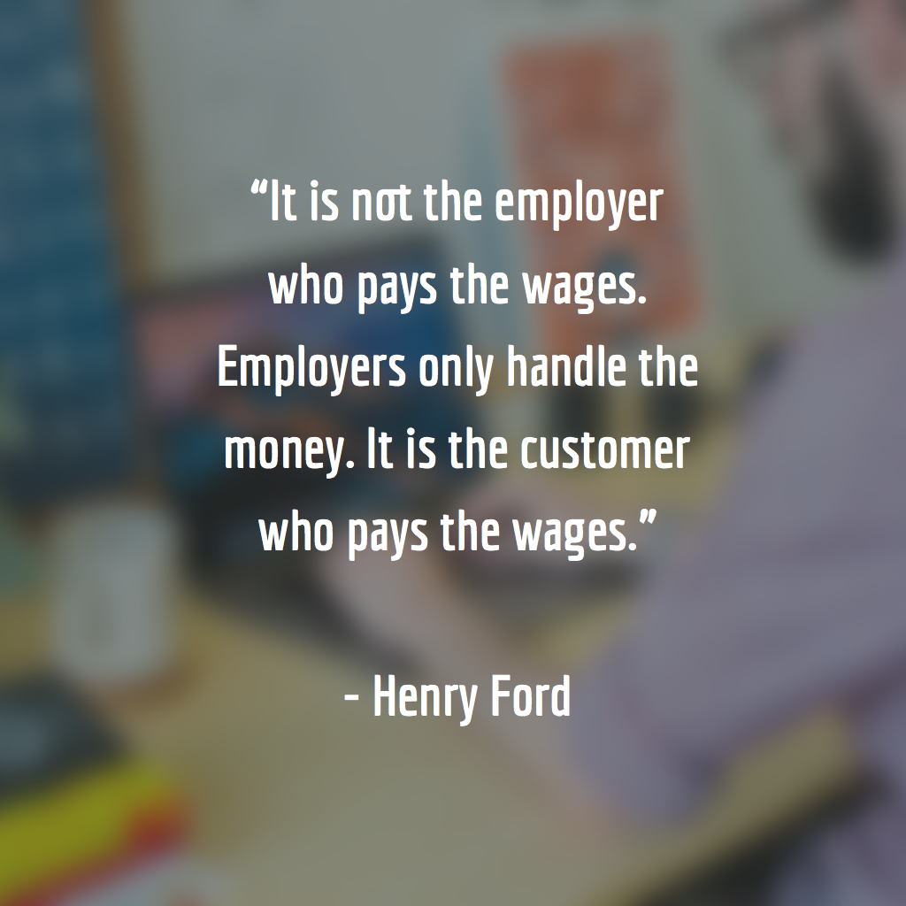 It Is Not The Employer Who Pays The Wages Employers Only Handle