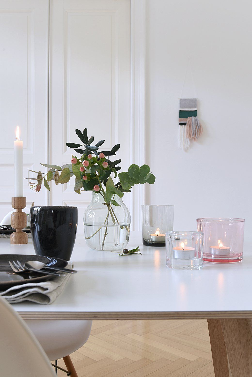 Relaxing Cozy Tabletop Decor Inspired By Finland Table Top