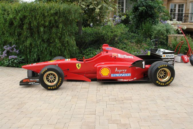 1996 Ferrari F1 Tipo F310 Serial Number 168 Trans Am F1 Racing