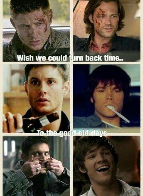 Spn Sam Dean Winchester Supernatural Funny Supernatural Quotes Supernatural Fandom