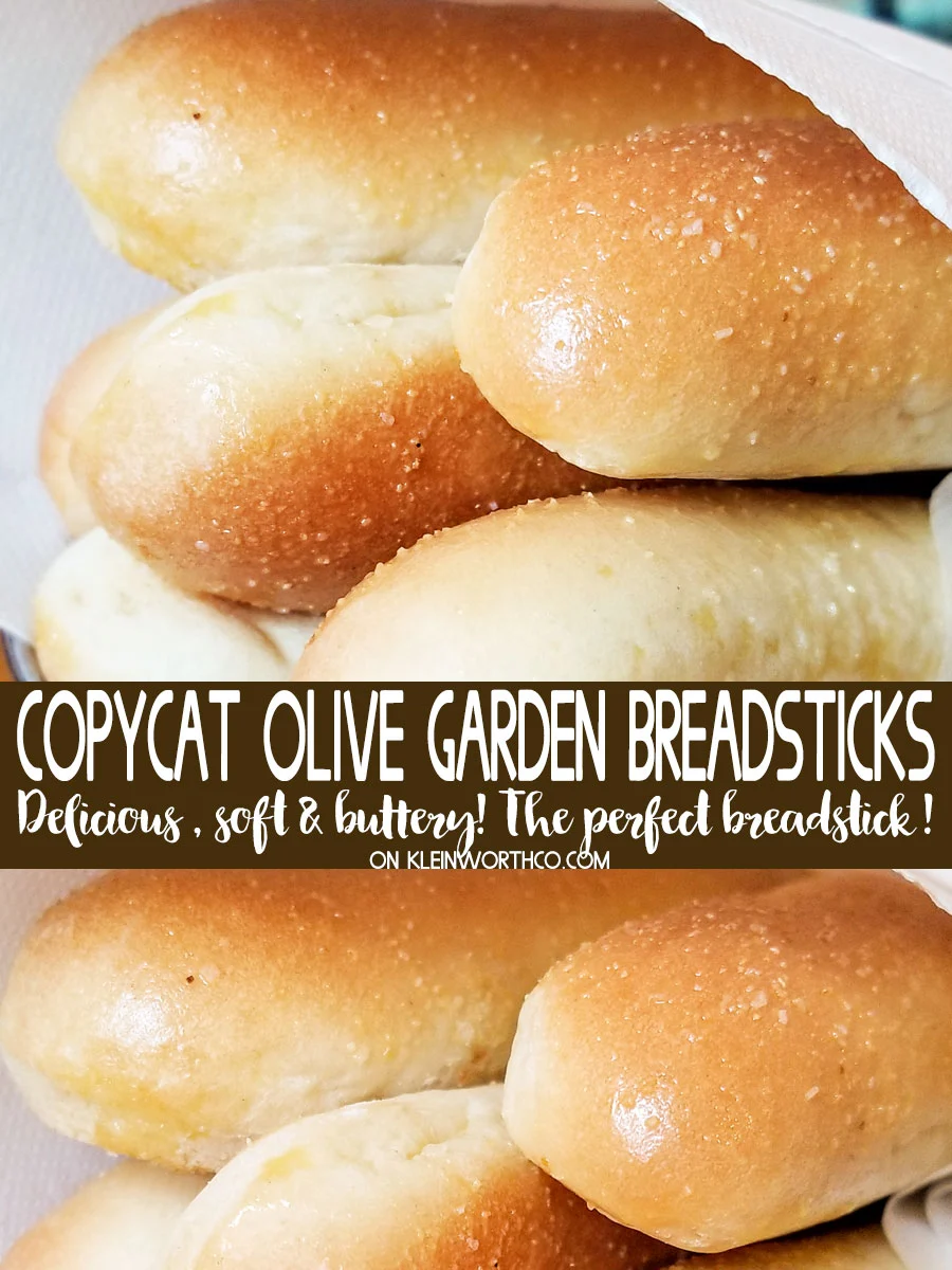 If you love buttery, garlic breadsticks, then you will