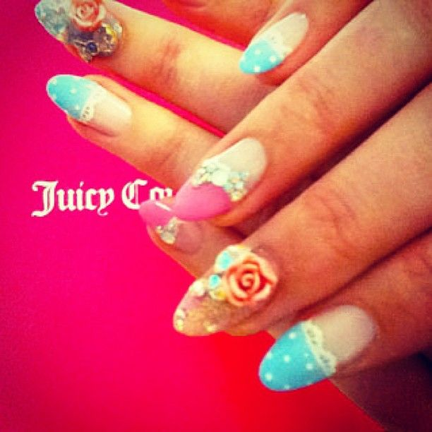 Juicy Couture Nails Inspirational Nail Designs Pinterest