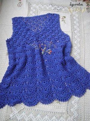 innovart en crochet: clothing