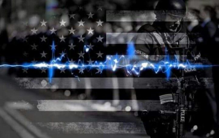 Be In Shape For The Police Physical Exam Thin Blue Line Flag Thin Blue Line Wallpaper Thin Blue Lines