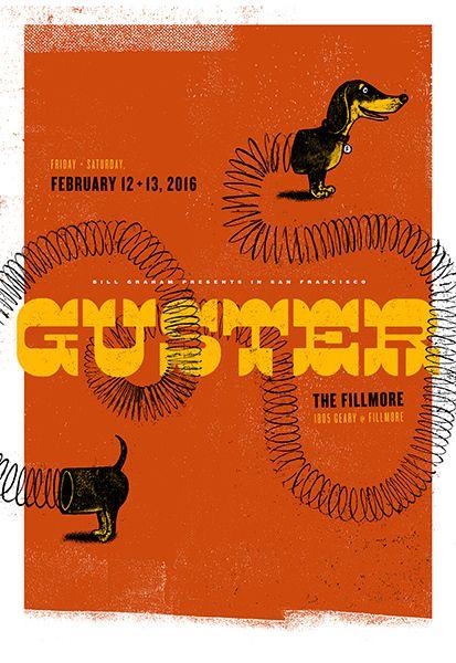 Guster #gig #poster #art