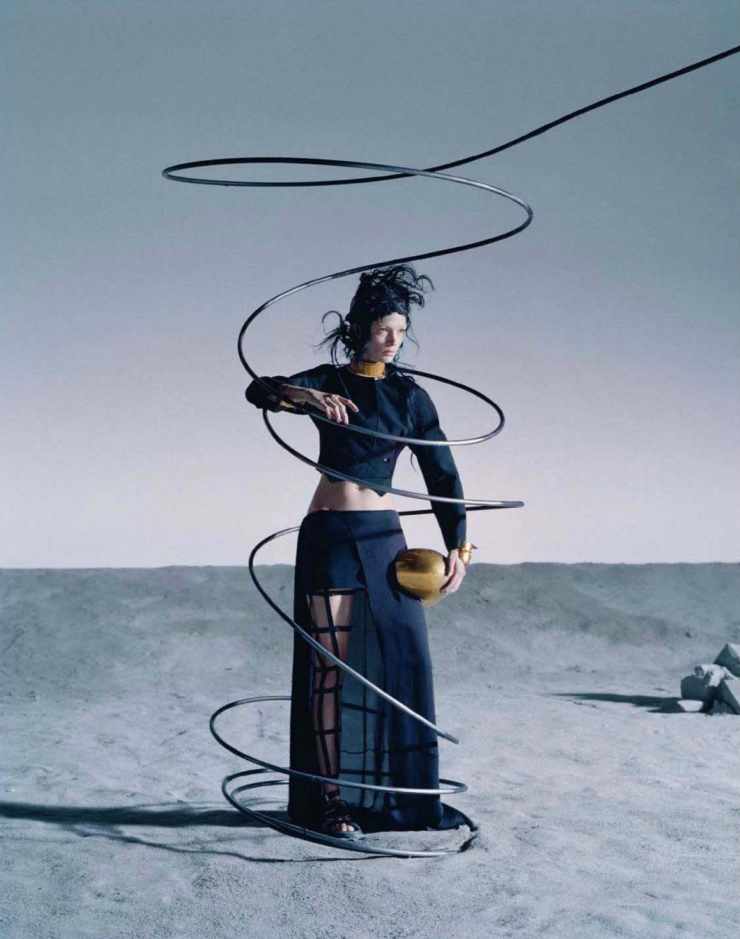 Mariacarla Boscono by Tim Walker for Vogue Italia March 2014    [Salvador Dali]