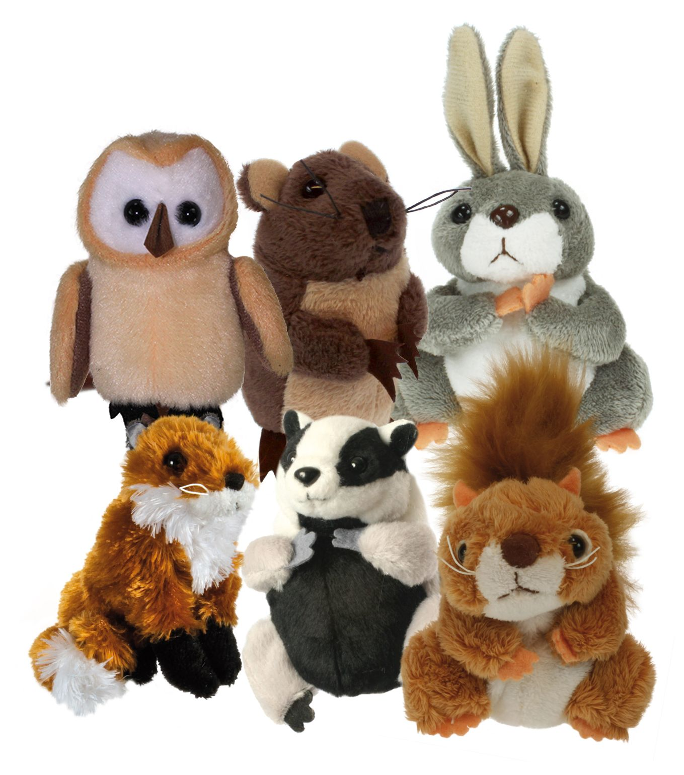 Finger Puppets Bear The Puppet Company