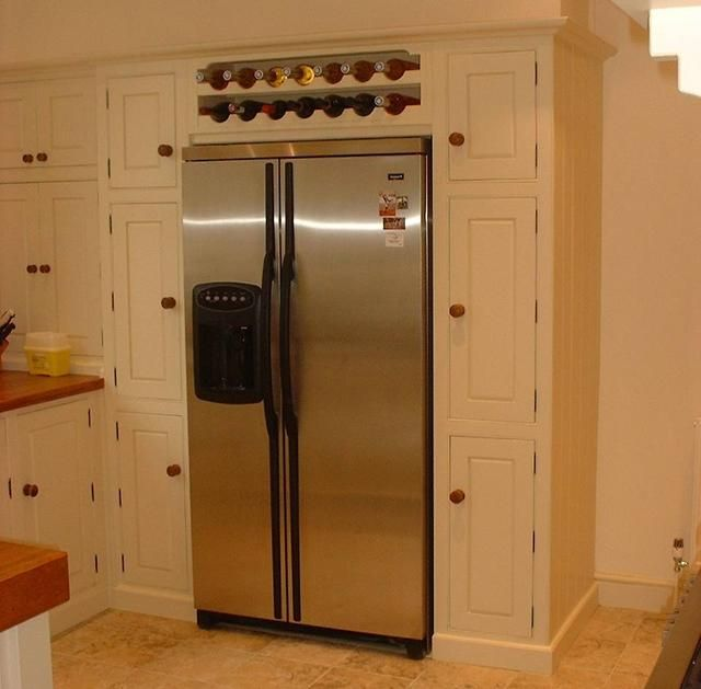 kitchen cabinet wine rack ideas the refrigerator ideas american fridge housing with 19785
