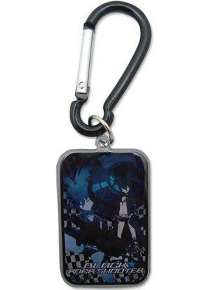 Black Rock Shooter Carabiner Keychain: Black Rock Shooter Metal