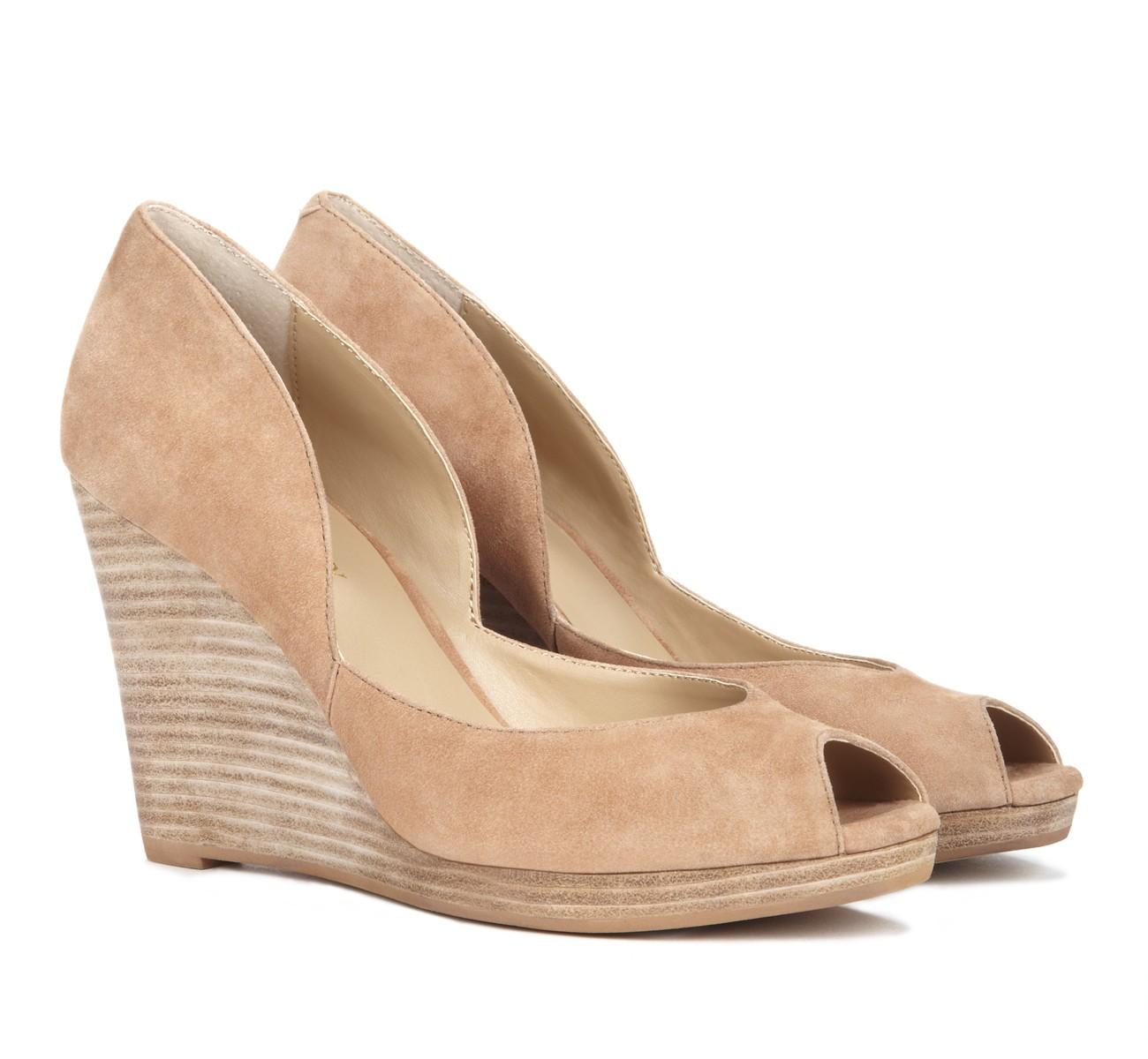 Peep toe wedges, Me too shoes