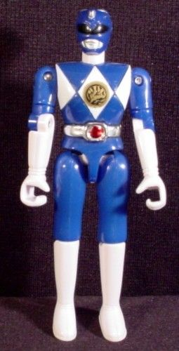 "Blue Power Ranger 4.75"" Dated 1993 Bandai"