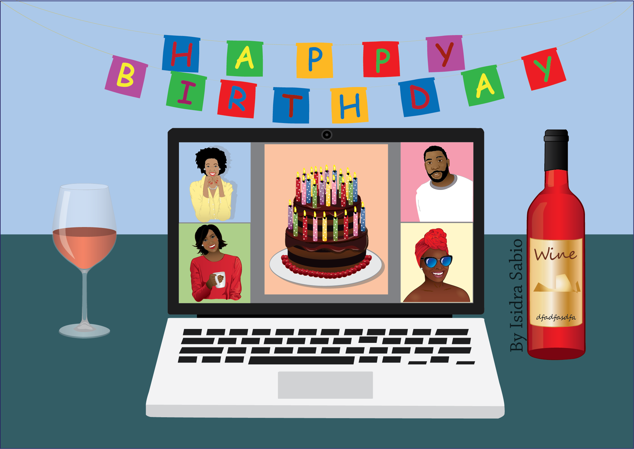Pin on Birthday Cards created by AfroLatin Publishing