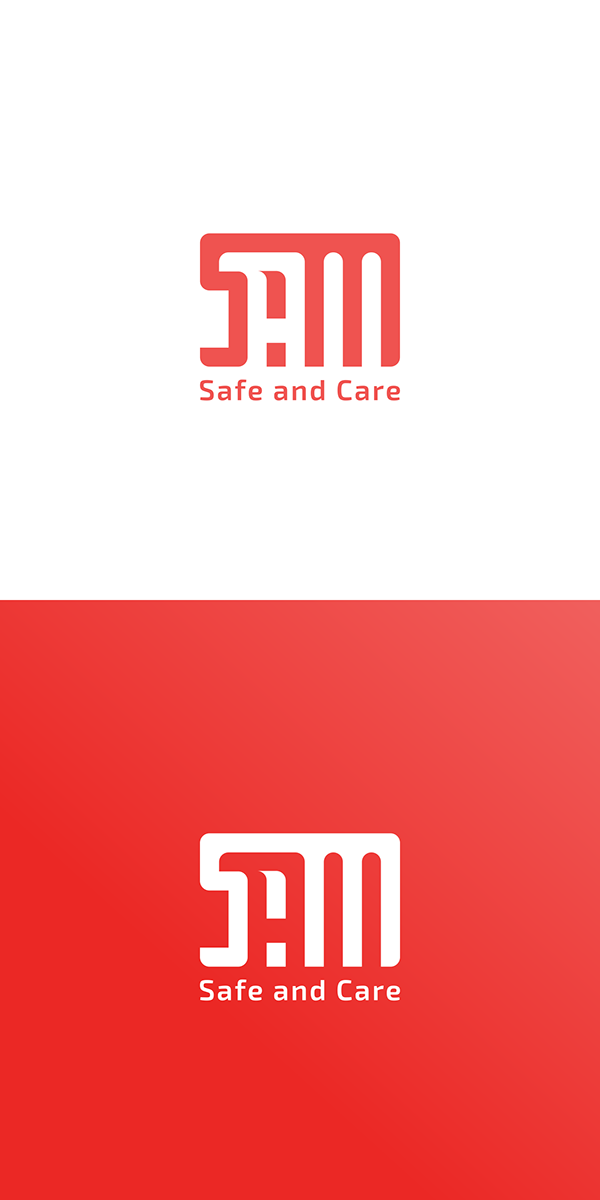Check On My Behance Sam Logo Design Hydrant Safe And Care Created With Inkscape Education Logo Design Education Logo Logo Design
