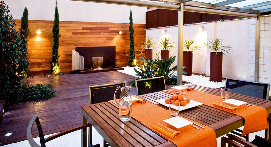 iluminacion de terrazas y jardines terraza urbana gracias a la iluminaci n con apliques de
