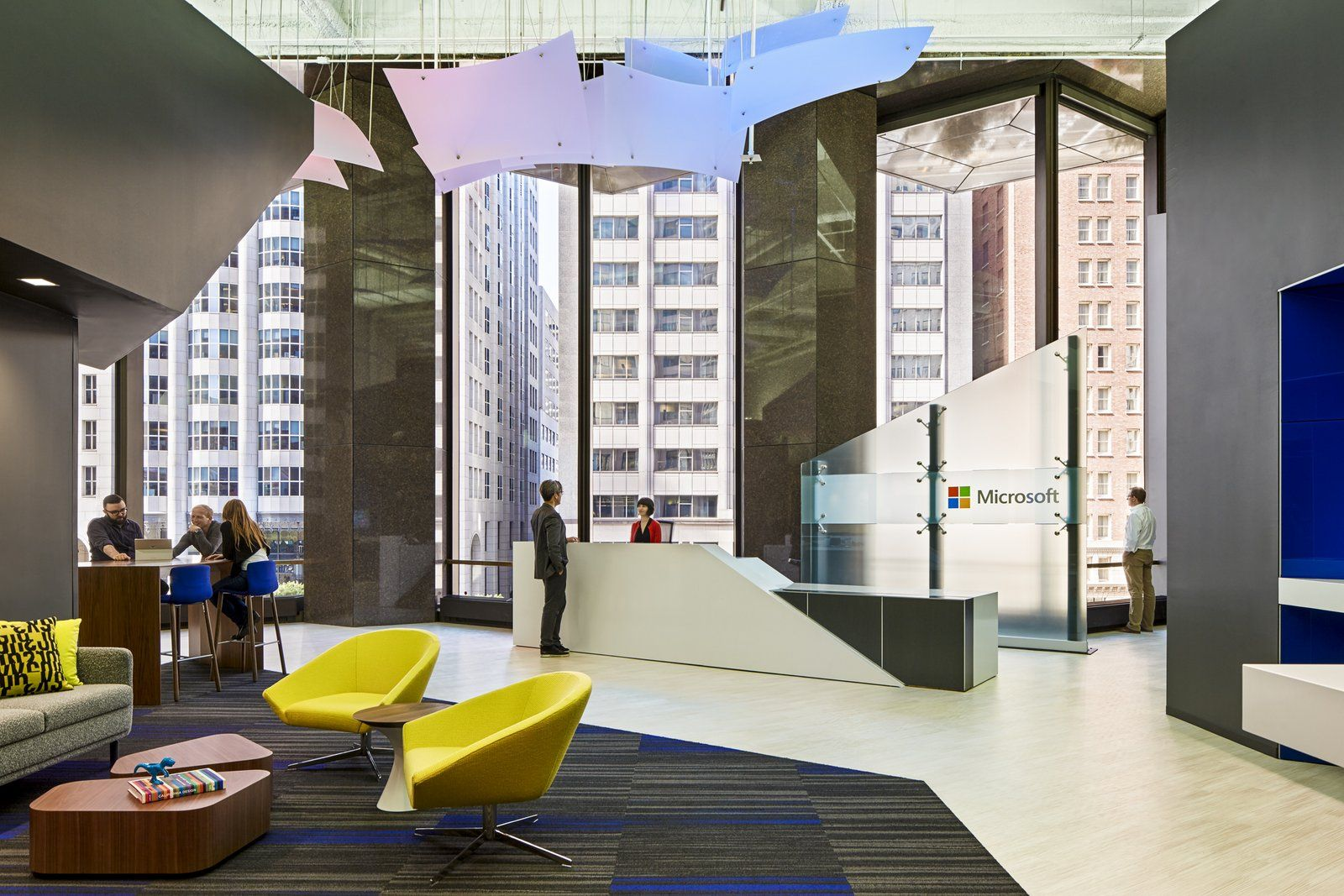 Office Tour: Microsoft Offices – San Francisco | Office designs ...