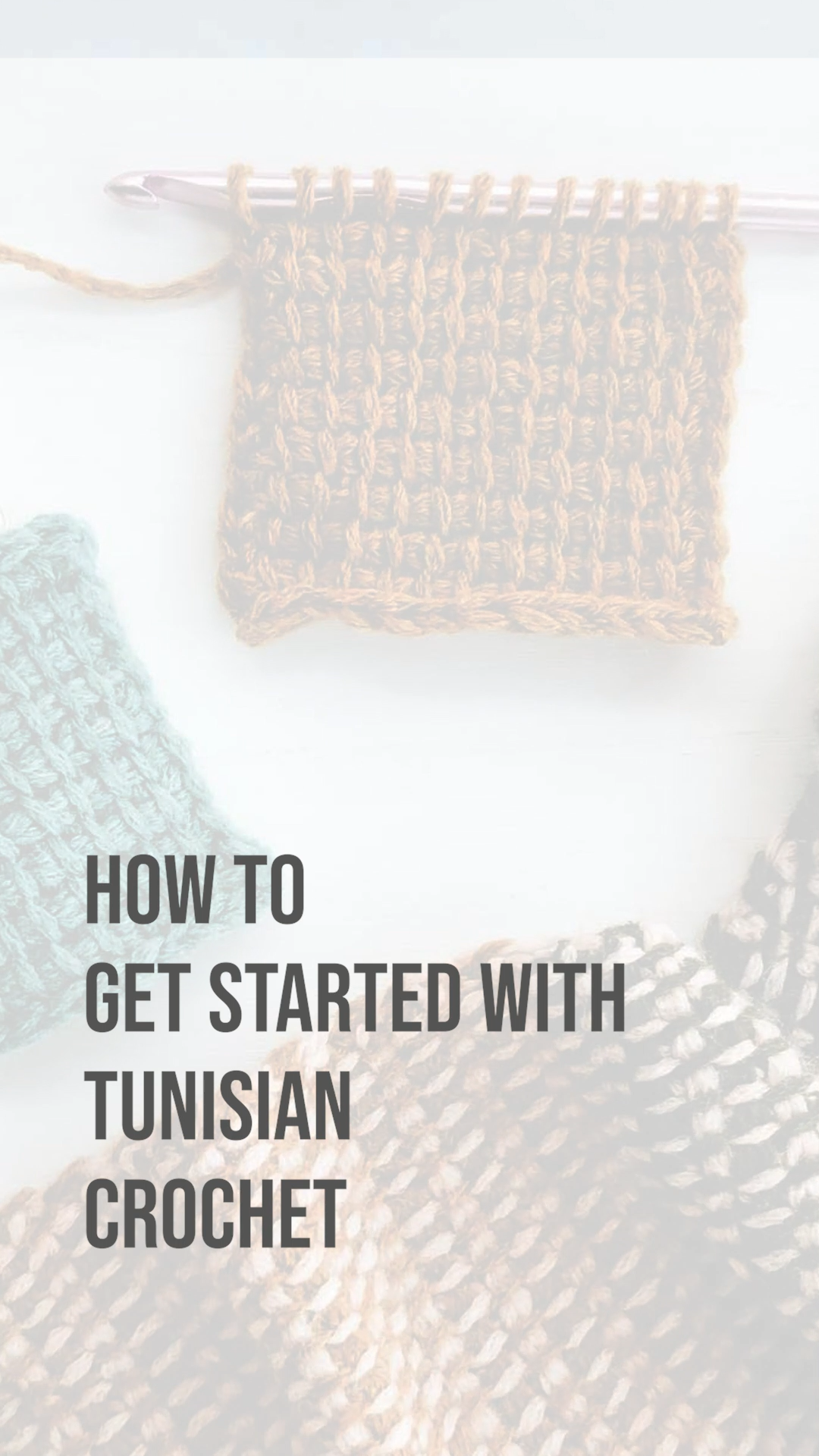 Photo of Learn how to Tunisian crochet with this free video tutorial!