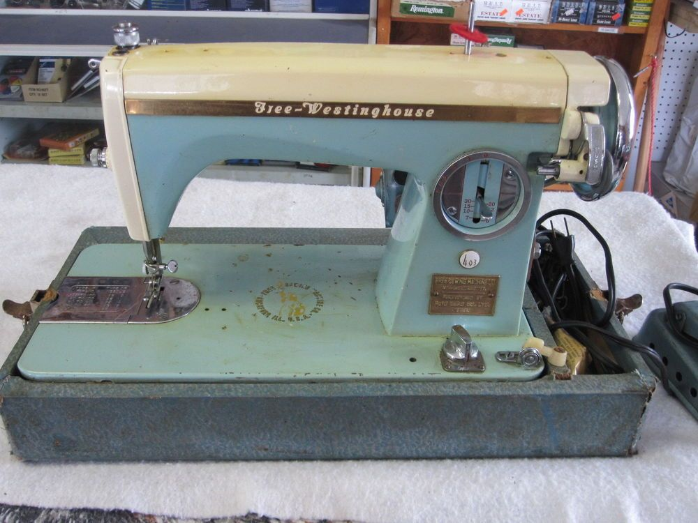 Vintage Free Westinghouse Sewing Machine Made In Japan Model 40 Extraordinary Free Westinghouse Sewing Machine Value