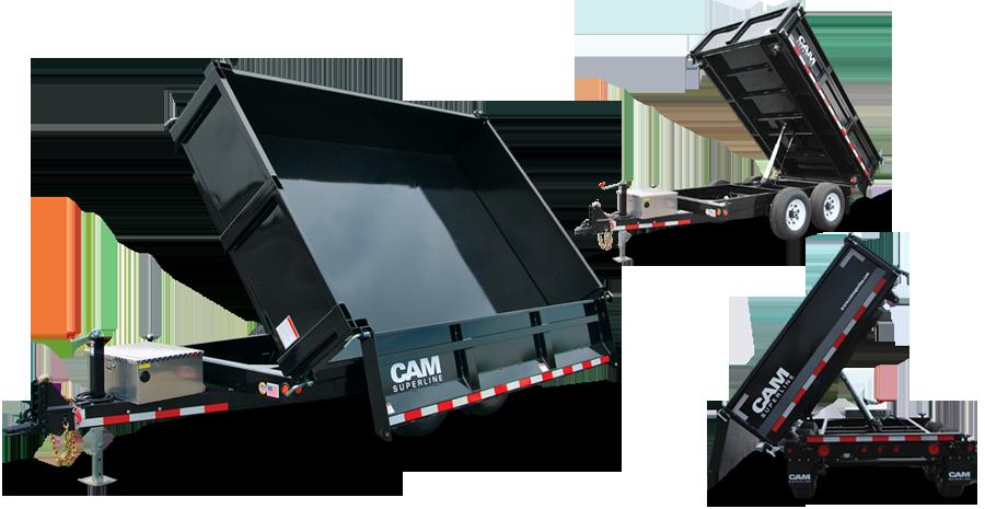 Dump Trailer 3Way Dump (5 Ton Model) Dump trailers