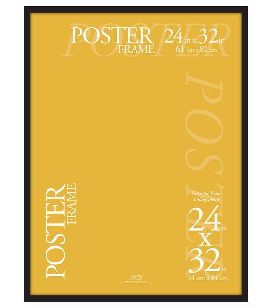 MCS Industries Plastic Gallery Poster Frame 24\'\'x32\'\' - Black