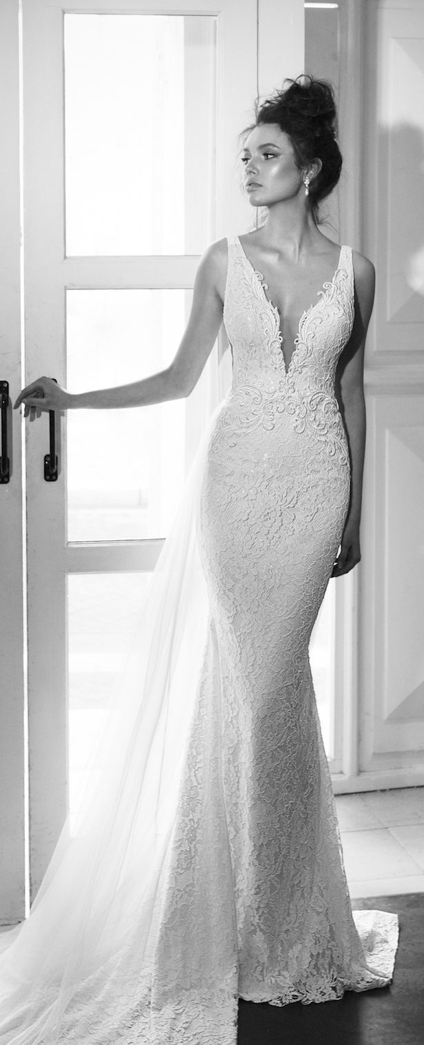 Wedding dress by julie vino romanzo collection fitted lace