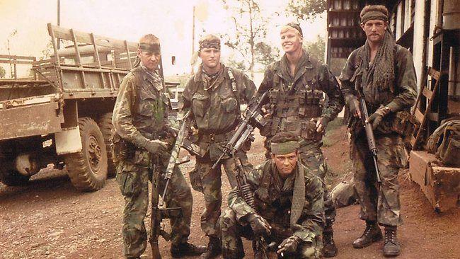 Sas Vietnam Hans Fleer Left Took Control Of His Army