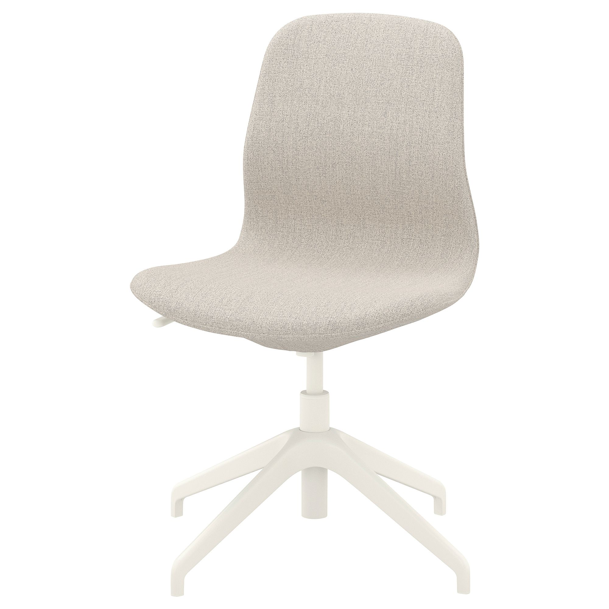LÅNGFJÄLL Conference chair Gunnared beige, white
