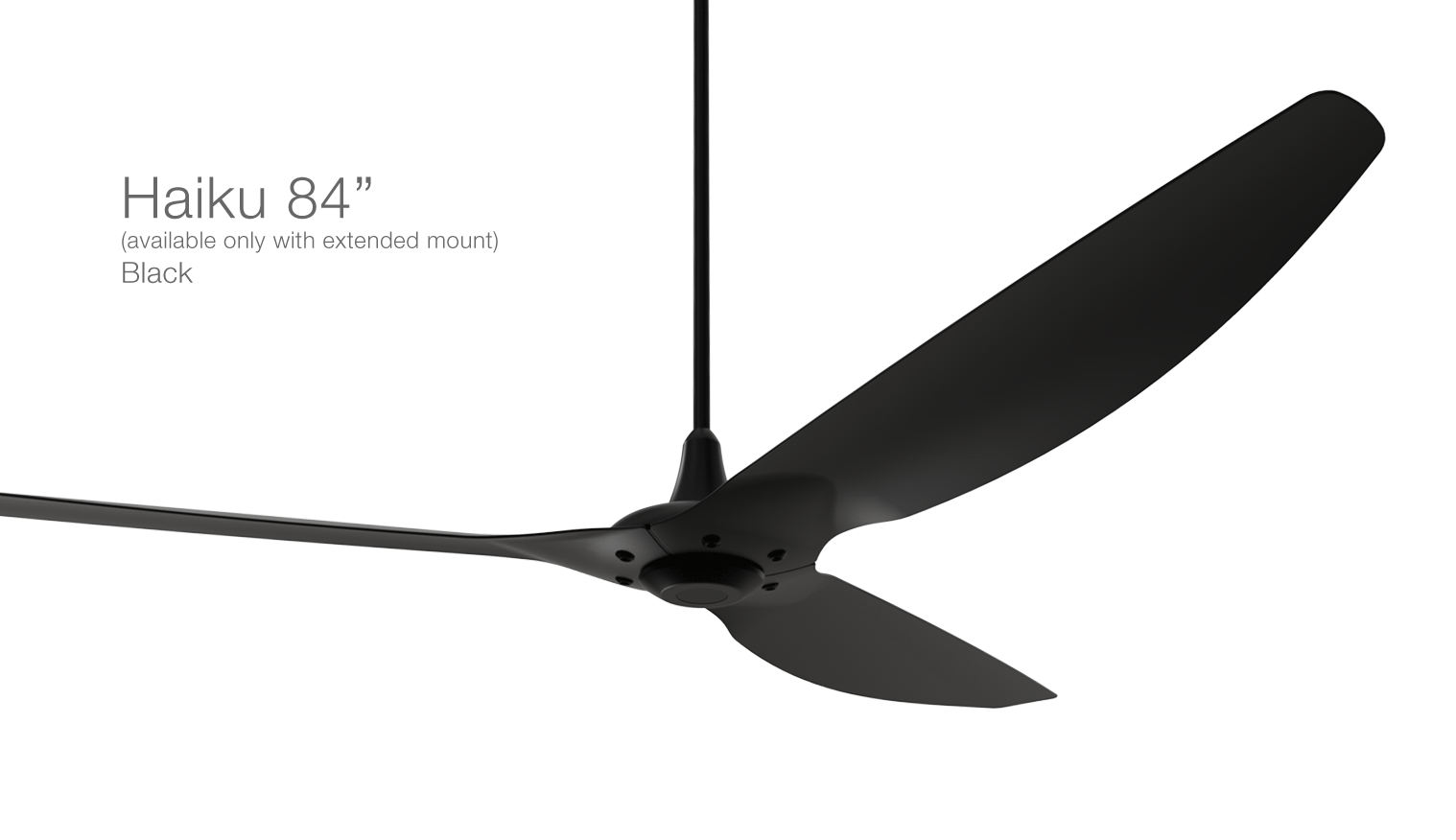 Haiku, the most advanced residential ceiling fan | Big Ass Fans - can be used in covered outdoor areas