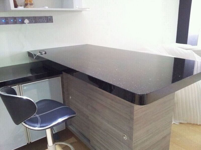 Black Galaxy Granite Study Table Tops This Is The Granite I Will