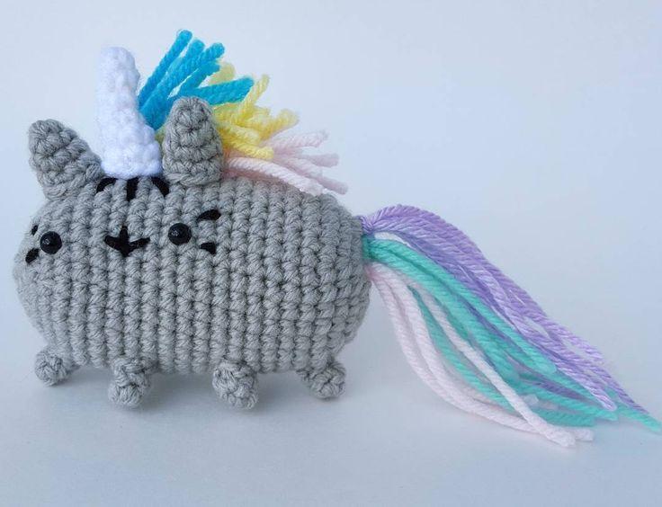 Resultado de imagen de amigurumi cat crochet pusheen cumpleanos ...