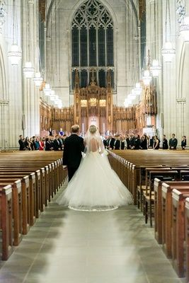 A Blue White Gold Military Wedding At Duke University Chapel