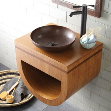 vessel sink countertop ideas modern world home interior copper bowl pinterest vessel sink vanity tops and