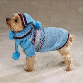 I will dress my dog up like this EVERY DAY during the winter :)