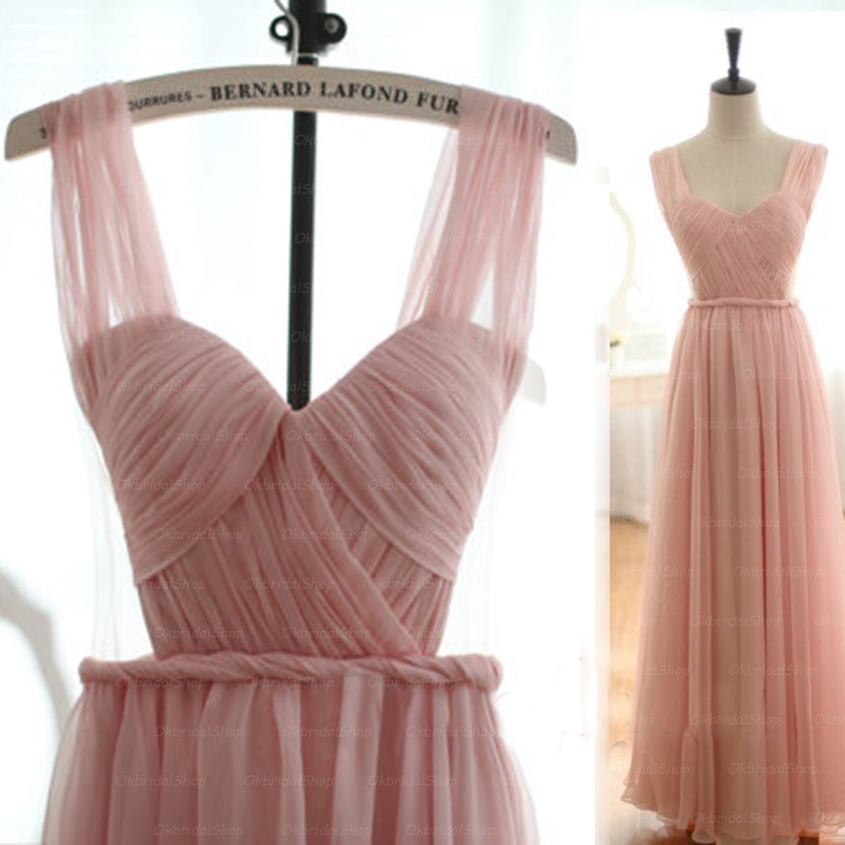 Lace tulle a line evening prom dresses sexy deep v neckline party