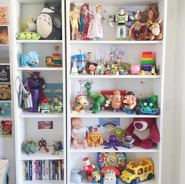Toy Story Collection Apartamentopequenoideias Bedroom Bookshelf Desk Bookshelves Disney Furniture