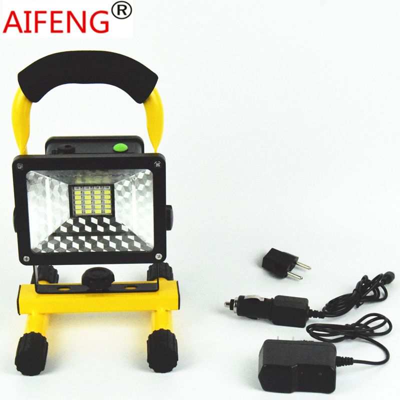 Camping Utensils 30w 2400lm Portable Hunting Spotlights Camping Spotlight 12v 24v Car Recharging Charger 18650 Led With Images Portable Spotlight Led Spotlight Charger Car